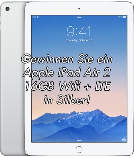 Gewinnspiel Preis iPad Air 2