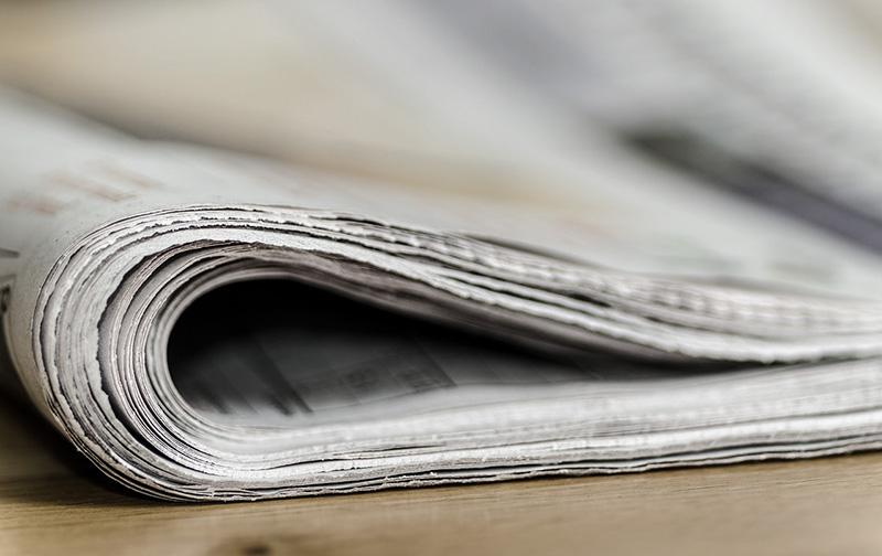 News in eigener Sache Logo Zeitung