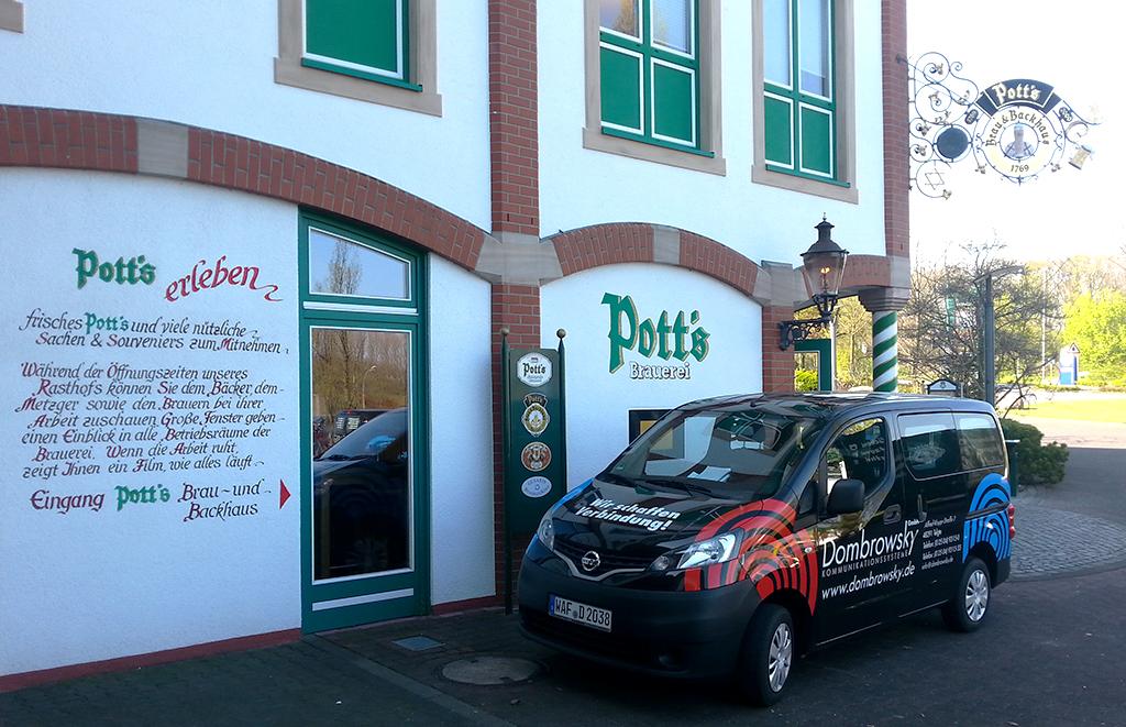 News Pott's Brauerei Auto