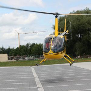 Kiebitzfest Telgte Hubschrauber Start
