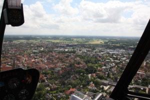 Kiebitzfest Telgte Luftaufnahme